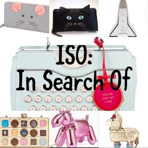 ISO: in search of these Kate spade items